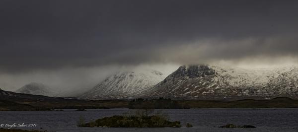 Black Mount Overcast... by Scottishlandscapes