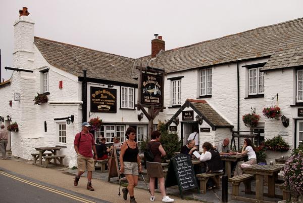 Tintagel Cornwall by retroman