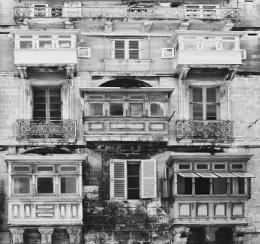 Balconies In Valetta
