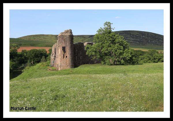 morton castle . by callumcorrie