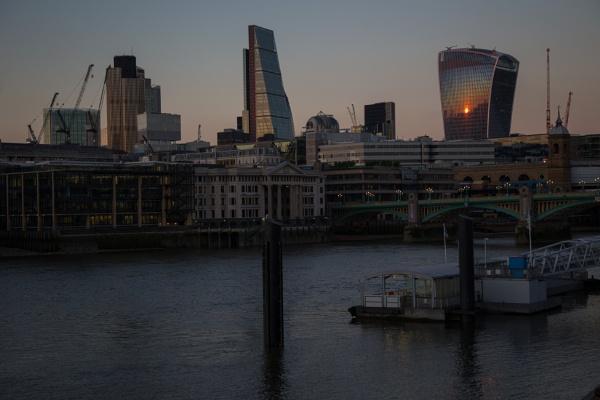 Sunset London by Swhitfield