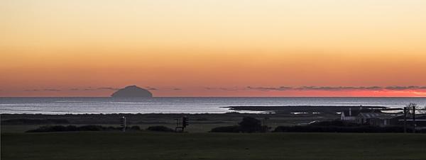 Ailsa Craig at Sunset by Irishkate