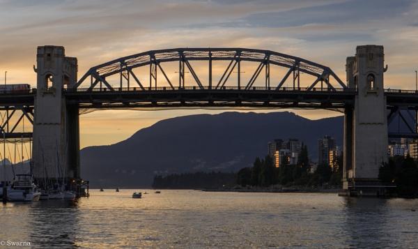 Burrard Bridge - Vancouver BC by Swarnadip