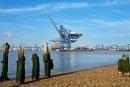 Felixstow Docks by vivdy