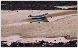 A boat alone