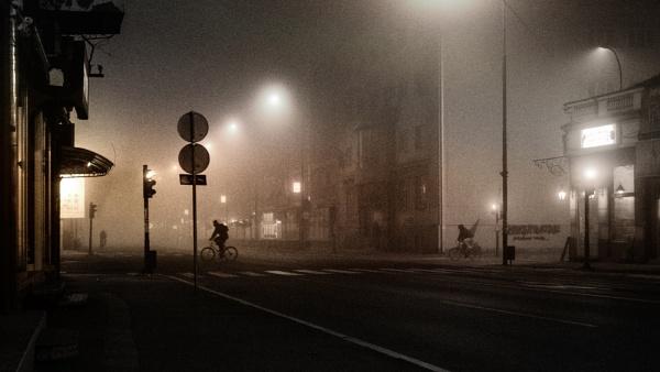 Urban Scene XXXIV by MileJanjic