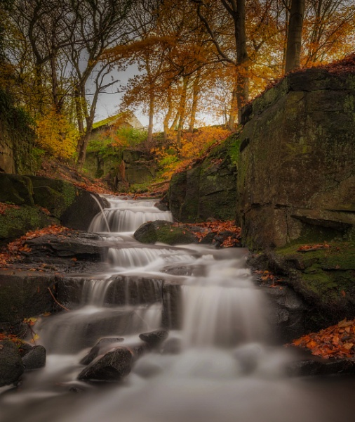 Lumsdale Falls by Legend147