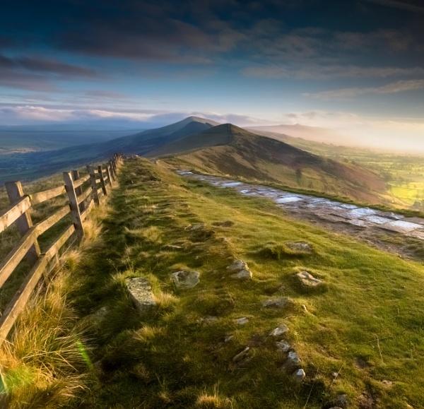 Great Ridge Autumn by Legend147
