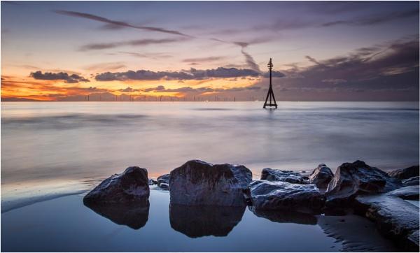 Last Light on Crosby Beach by Somerled7