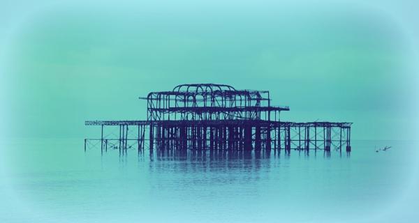 The Azul Pier by blackpixifotos