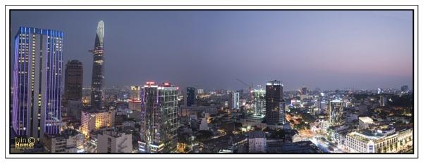 Saigon Twighlight by IainHamer