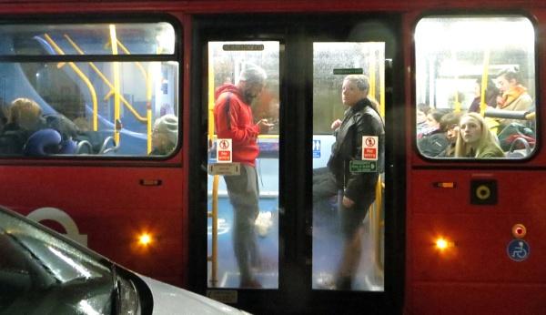 Bus Commuters by RysiekJan