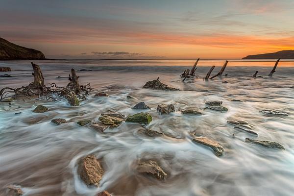 Cayton Bay by phillG
