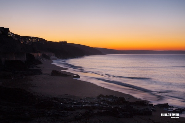 Sunrise at Porthleven by sunsetskydancer
