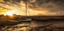 Golden light on Brancaster Staithe by ianrobinson