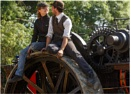 Traction Engine Couple by dark_lord