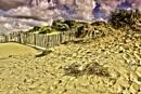 wood sky  and sand by arnieg