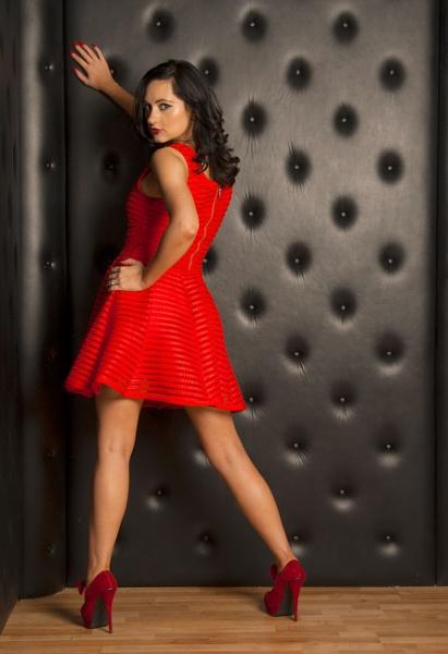Lady in Red by DennisBloodnok