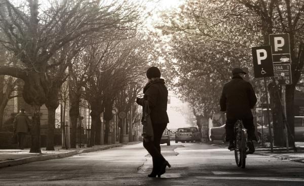 Urban Scene XXXVIII by MileJanjic
