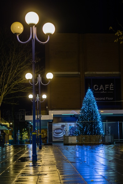 Scunthorpe Precinct Christmas Tree by wrighty765squit