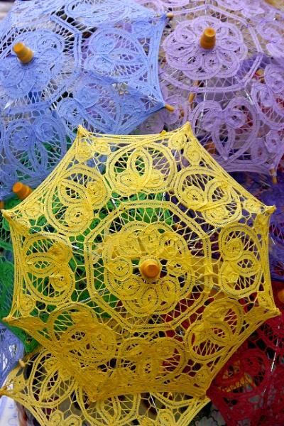 Lace Umbrellas by ThePixelator