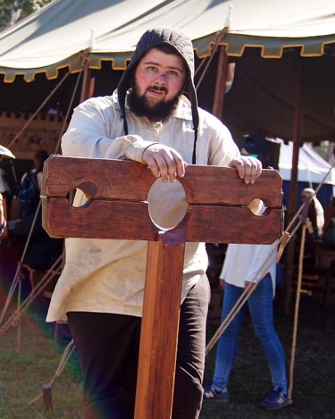 Medieval Stocks by Wireworkzzz