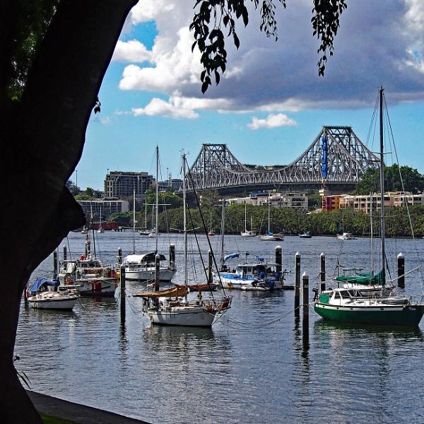 Brisbane River by Wireworkzzz
