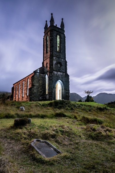 Dunlewey Church, Poisoned Glen by Johnnybairdphotography