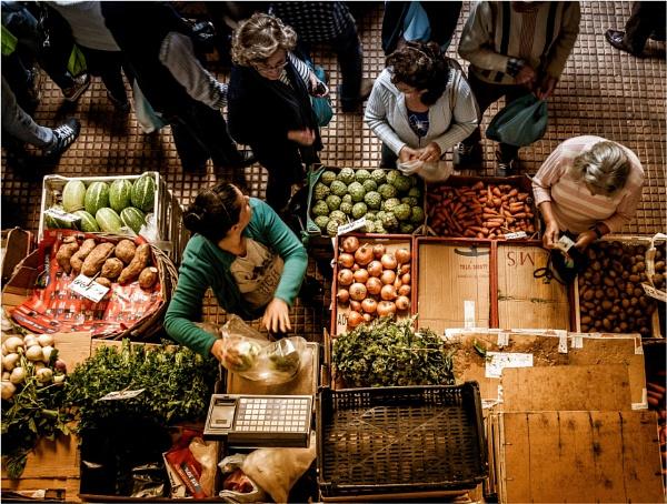 Market Day by KingBee
