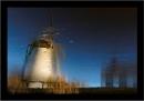 Wintry Windmill by Rende