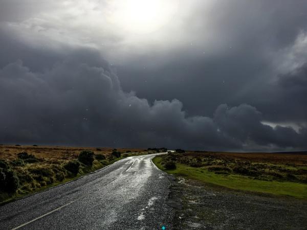 Exmoor storm by Blundez