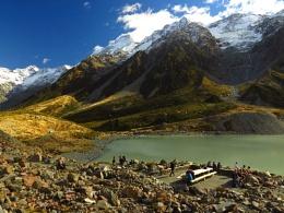 Hooker Glacier Lake 4