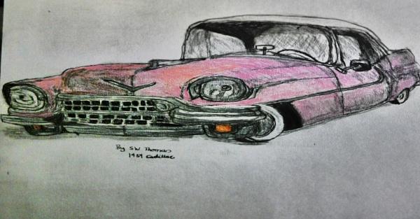 1959 Cadillac by sparrowhawk