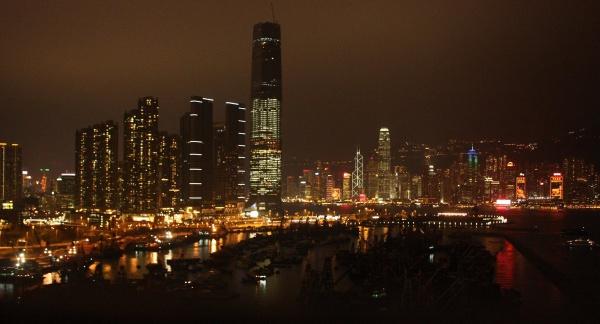 HONG KONG AT NIGHT by JOKEN