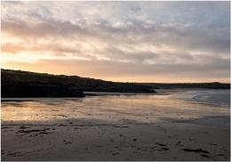 Sunrise at Godrevy