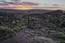 Sunrise through the gate hole by Gavin_Duxbury