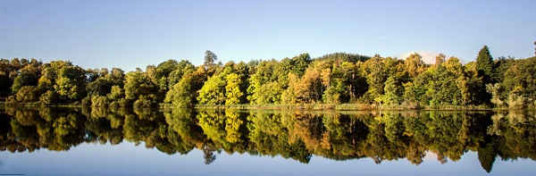 reflections on the hainingloch by luckybry