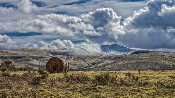 Snow Capped Pen Y Fan by Kilmas