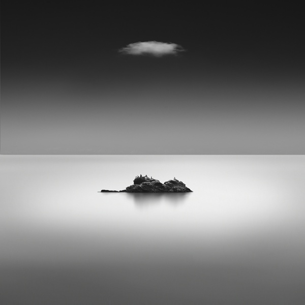 A Rock and A Cloud by Diggeo