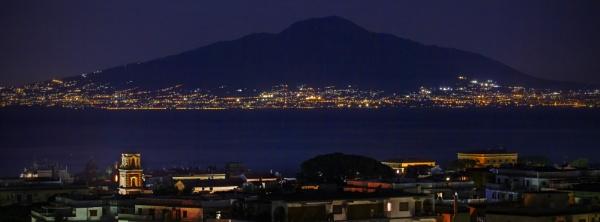 Vesuvius at Night
