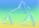 Three Pyramids by bluefalcon