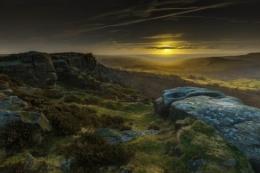 Baslow Edge Sunset