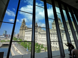 Liver Buildings from the Museum of Liverpool.