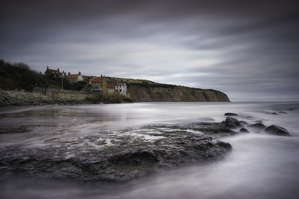 ROBINHOODS BAY WINTER LIGHT by Lee100
