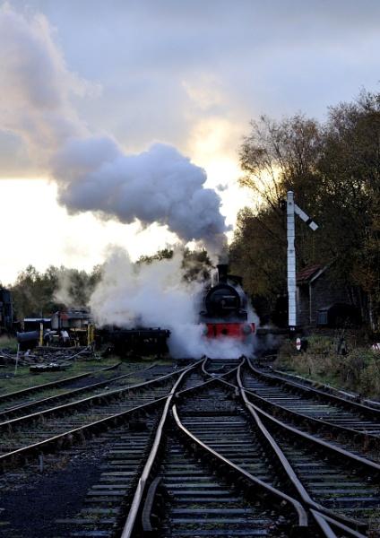 steam train by MartynBurns