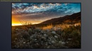 Sunset from Rancho Cucamonga Foothills by dtmacias