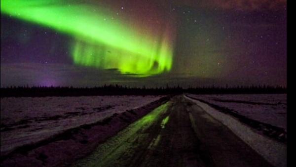 Northern Lights Northern Alberta by StevePushman