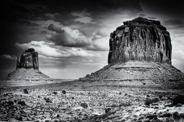 Mother Road XXXVIII - Monument Valley by Stephen_B
