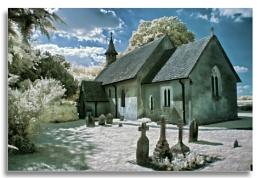 Hartley Mauditt church. IR