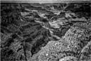 Le monde sans couleur: Grand Canyon by KingBee
